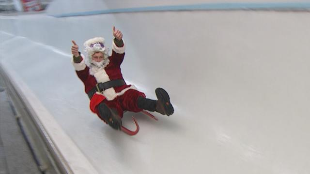 Santa finding new ways to deliver presents