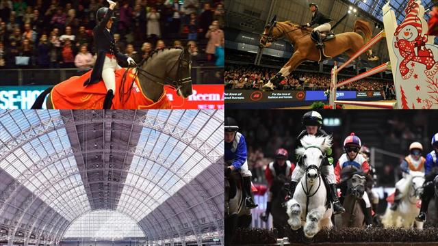 Longines FEI World Cup jumping part of London's Olympia Horse Show