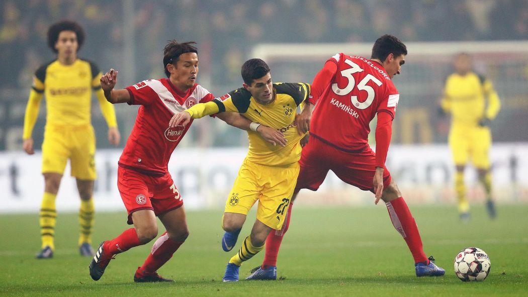 Fortuna Düsseldorf Borussia Dortmund So Lief Das Spiel Im Tv Und