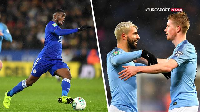 Highlights: Manchester City videre i Carabao Cuppen efter De Bruyne-drøn og straffesparksgyser