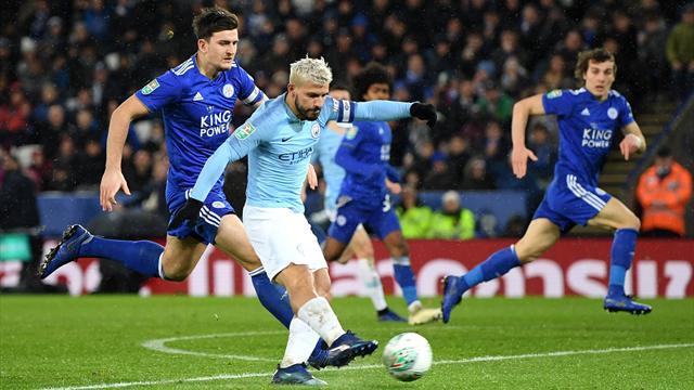 Im Elfmeterschießen: City zittert sich ins Ligapokal-Halbfinale
