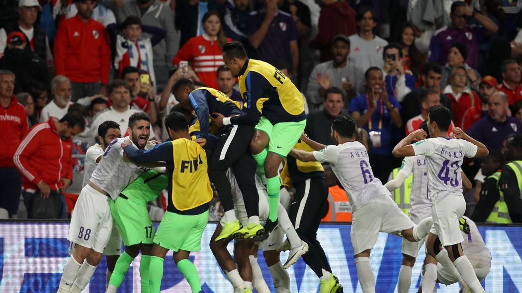 c0f2861da1 Football news - Al Ain beat River Plate on penalties to reach Club World  Cup final
