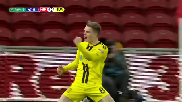 Burton till semi - Jake Hesketh hjälte mot Middlesbrough