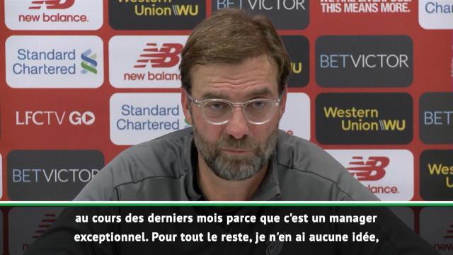 """Premier League: Liverpool - Klopp : """"Mourinho, un manager exceptionnel"""""""