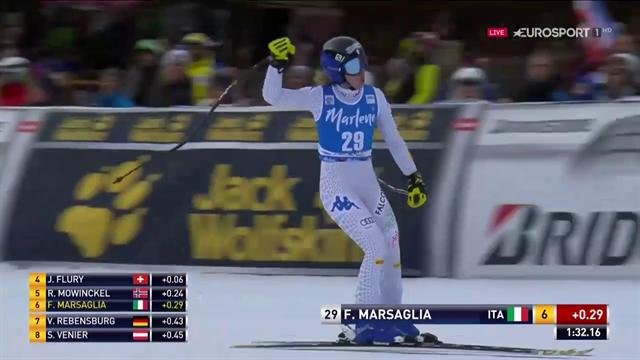 Francesca Marsaglia, il 6° posto della rinascita in SuperG: miglior risultato eguagliato