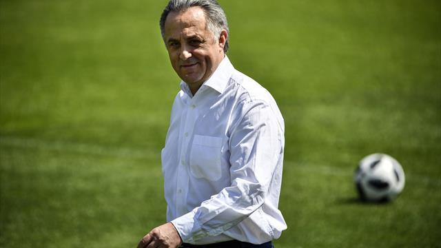 Mutko als Präsident des russischen Fußballverbandes zurückgetreten