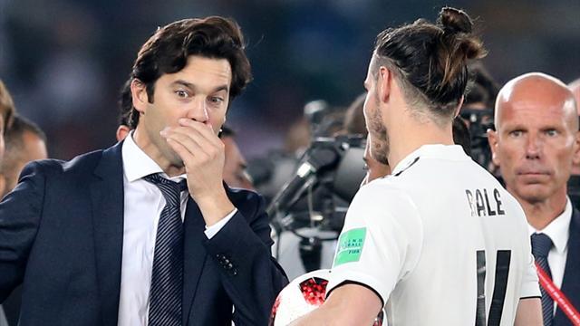 """Solari: """"Estoy contento por los tres golazos de Bale y por la solidez del equipo"""""""