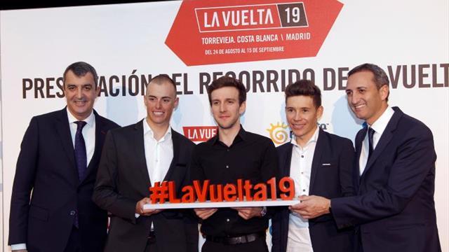 Ocho finales en alto, crono en Francia y emoción hasta Madrid en la Vuelta 2019
