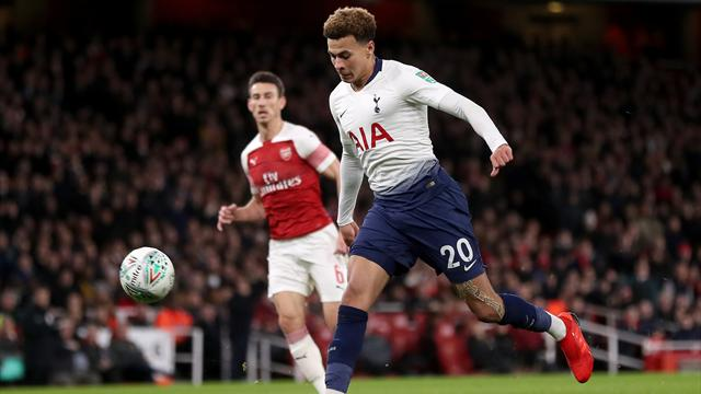 Il Tottenham si vendica dell'Arsenal, vince 2-0 e approda col Chelsea in semifinale di League Cup