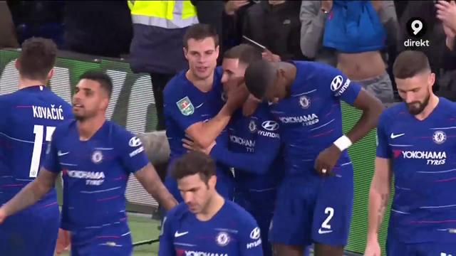 Höjdpunkter: Hazard hjälte - sköt Chelsea till semifinal