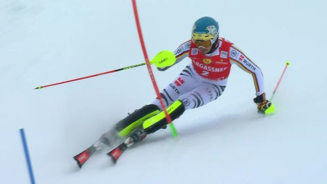 De retour en slalom, Neureuther est déjà dans le bon tempo : sa 1re manche