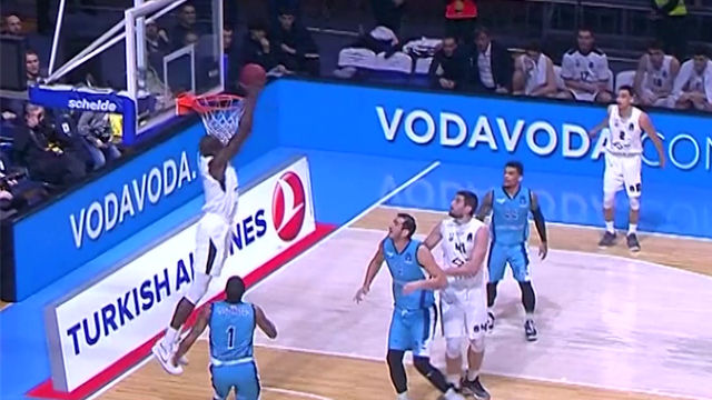 Eurocup Dunk of the night - Round 10