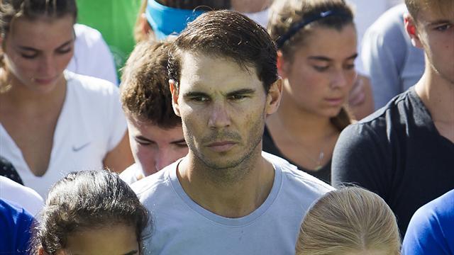 Rafael Nadal donne un million d'euros aux sinistrés de Majorque — Inondations