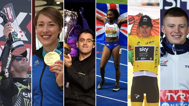 VOTE: Who is your Eurosport British star of 2018?