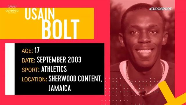"""Vom Youngster zum Star   Usain Bolt: """"Ich denke nicht an Olympia"""""""