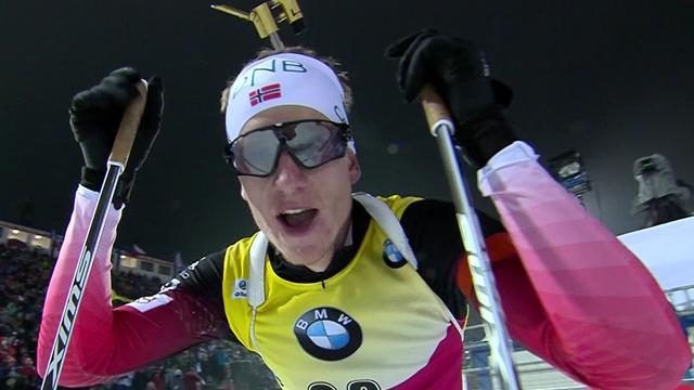 Biathlon highlights: Johannes Thingnes Boe snatches fourth win of season