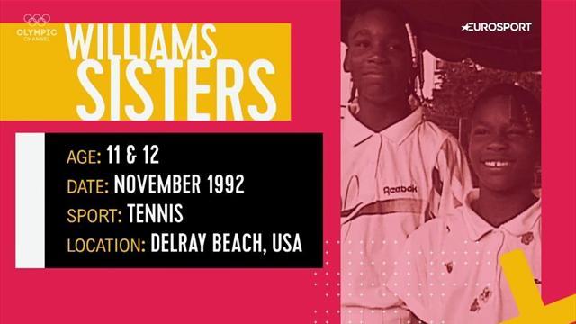 """Vom Youngster zum Star   Serena & Venus Williams: """"Wenn wir groß sind, wollen wir Tennisprofis sein"""""""