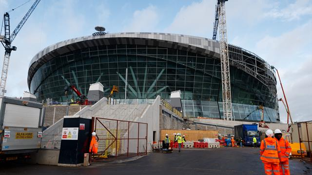 Tottenham announce further stadium delays, more games at Wembley