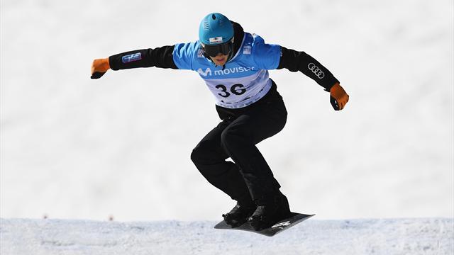 Snowboard Cross | Pech voor Glenn de Blois in Cervinia