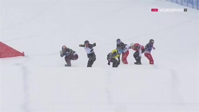 Auftakt-Sieg für Jacobellis bei Snowboardcross-Weltcup