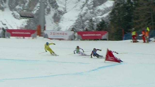 Midol claims Innichen ski cross title