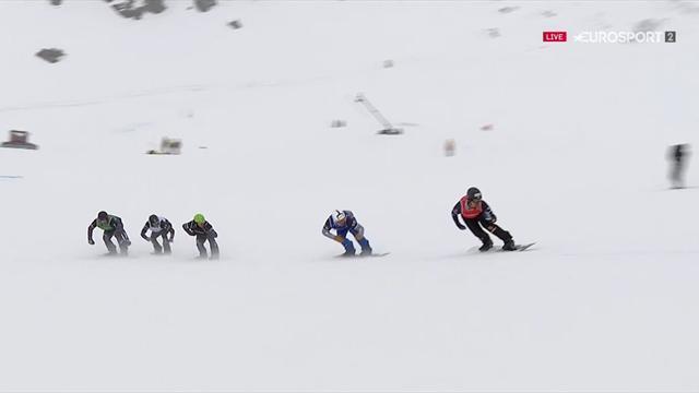 Snowboard cross | Noerl wint eerste wereldbekerwedstrijd van het seizoen