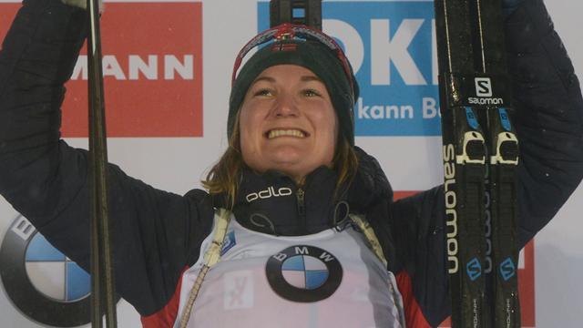 Roieseland holds off returning Dahlmeier to win sprint