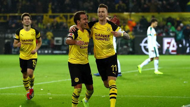 Bei Dortmund reifen Titelträume