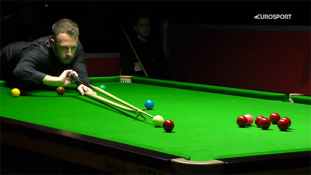 Trump hits superb 147 break against Kleckers