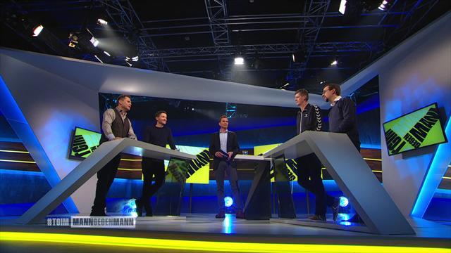 Mann gegen Mann - die ganze Sendung mit Lauth, Golz und Rasenfunker Ost