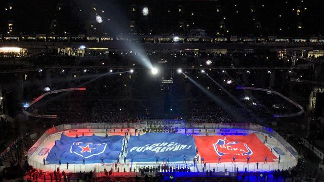 68 тысяч зрителей пришли на матч СКА – ЦСКА. Круто, но это не хоккей