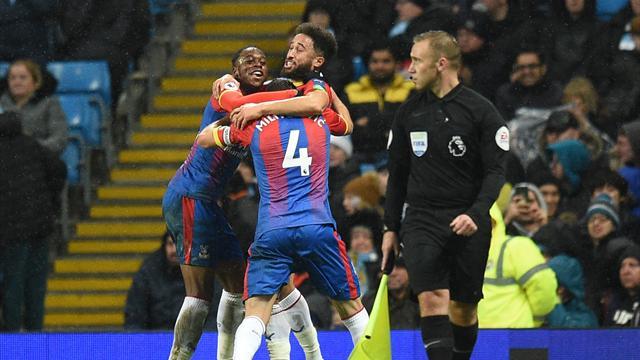 Townsend wonder-goal helps Palace stun City