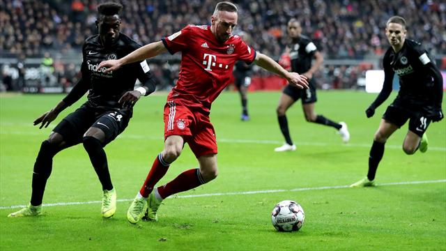 Ribery, Boateng out of Bayern squad for Liverpool match