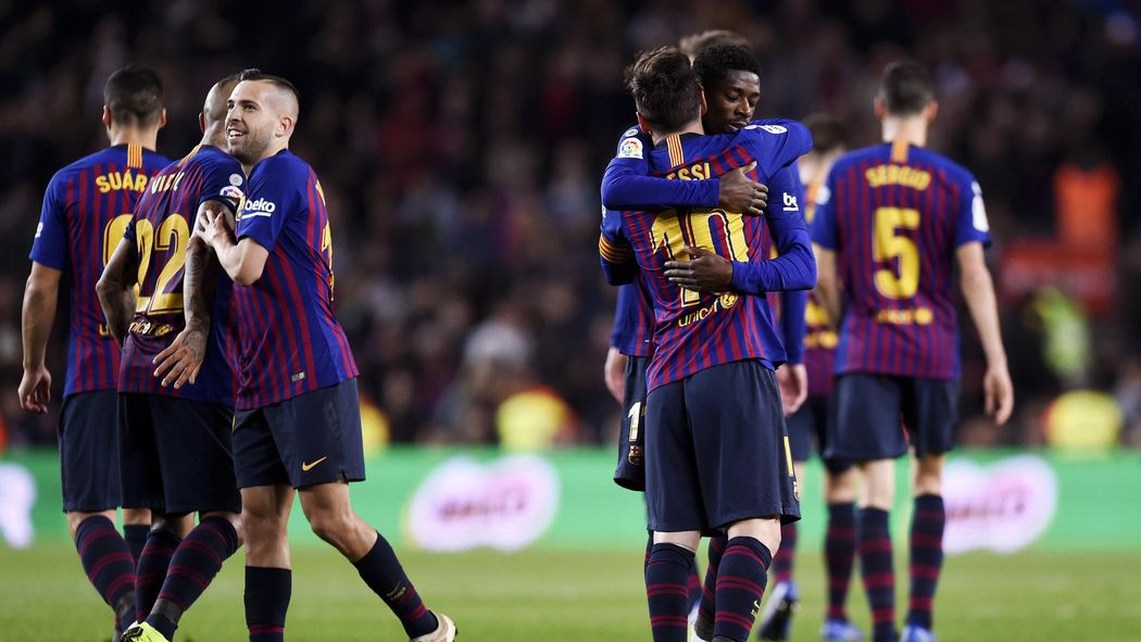 Barcelona Finish 2018 Top Of La Liga After Celta Vigo Win Liga