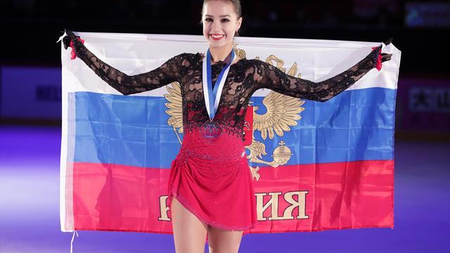Eiskunstlauf: Olympiasiegerin Sagitowa bei russischen Meisterschaften nur Fünfte