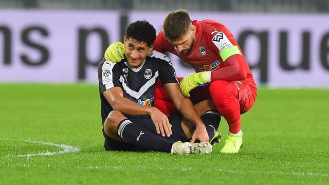 Coup dur pour les Girondins : Pablo victime d'une rupture du ligament croisé du genou