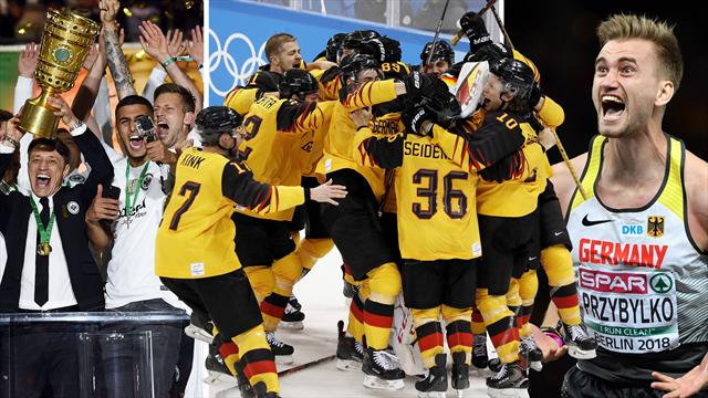 Pokal-Coup, Eishockey-Märchen, EM-Gold: Die Sport-Highlights der Redaktion