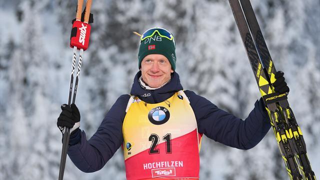Йоханнес выиграл индивидуалку, Логинов – третий