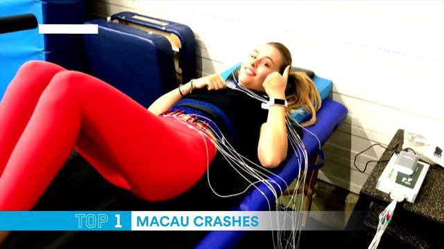 Топ-5 аварий года в Макао. Очень новогодний хит-парад