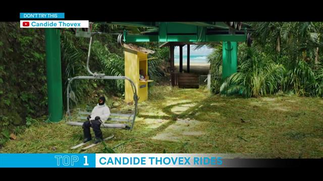 Top 5: Candide Thovex Rides