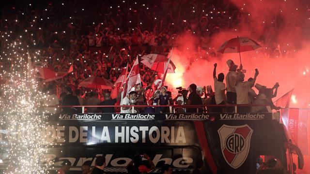 """Le Monumental plein à craquer pour fêter """"sa"""" Copa Libertadores"""