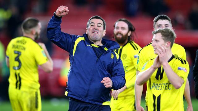 Dalla League One all'impresa in League Cup: la favola di Natale del Burton Albion di Nigel Clough
