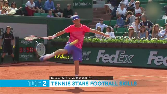 Watts Top 5: Tennis star football skills
