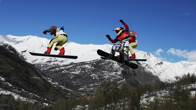 Zapping de Noël : le top 10 des chutes en skicross et snowboardcross