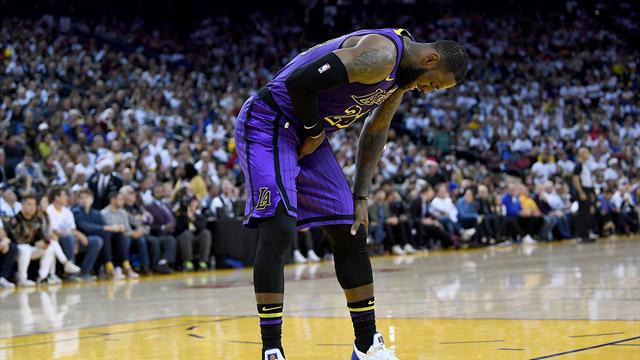 LeBron to miss game against Sacramento with strained groin