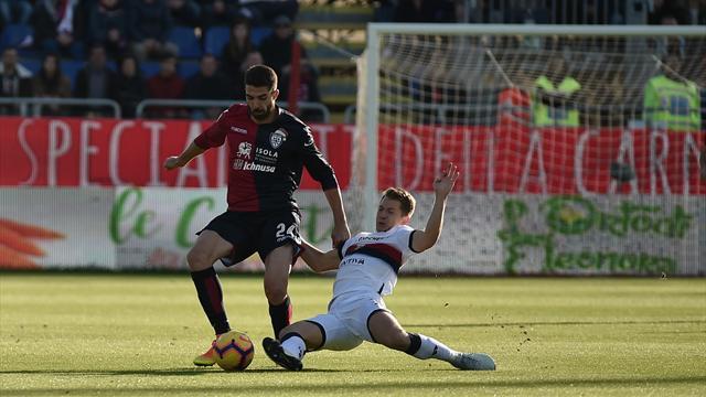 Genoa-Cagliari: probabili formazioni e statistiche