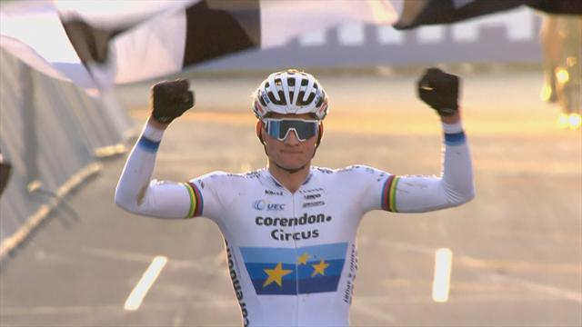 Van der Poel wins men's race in Zolder