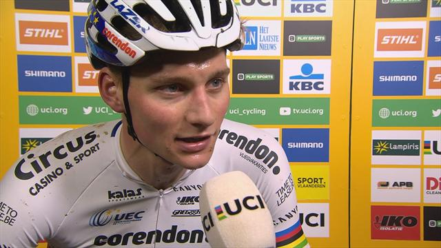 Untouchable Van der Poel delighted with victory