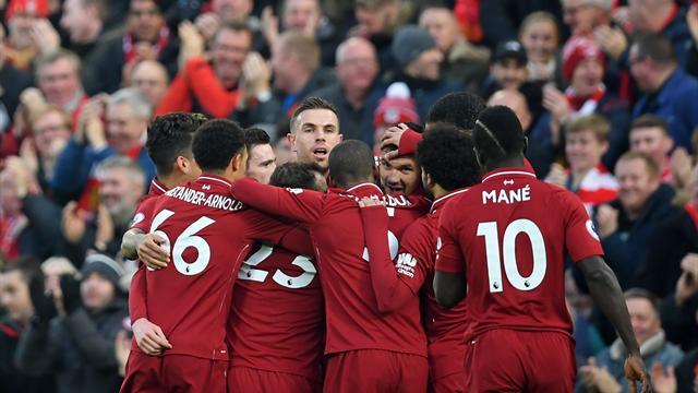 Liverpool prend le large, Tottenham grignote, Pogba brille de mille feux