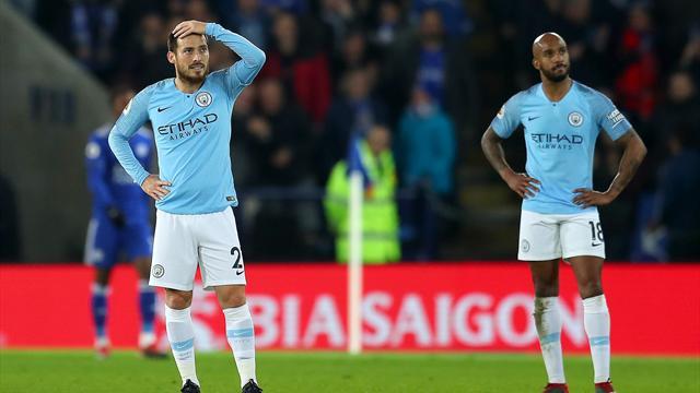 Man City sombre à Leicester... et au classement